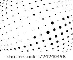 abstract halftone wave dotted... | Shutterstock .eps vector #724240498