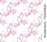 watercolor seamless pattern...   Shutterstock . vector #724242826
