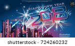 happy new year  2018  text  ...