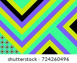 geometric contemporary style | Shutterstock .eps vector #724260496