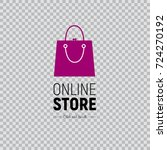 modern web banner online store... | Shutterstock .eps vector #724270192
