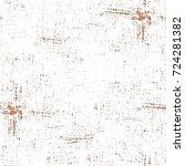seamless dark brown grunge... | Shutterstock . vector #724281382