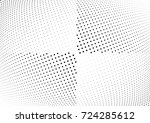 abstract halftone wave dotted...   Shutterstock .eps vector #724285612