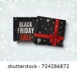 black friday sale design.... | Shutterstock .eps vector #724286872