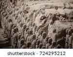 xian  china   may 11  2017  ...   Shutterstock . vector #724295212