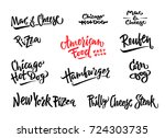 hand drawn vector illustration... | Shutterstock .eps vector #724303735