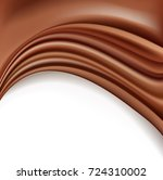 chocolate background with soft... | Shutterstock . vector #724310002