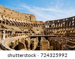 rome  italy   august 19  2017 ... | Shutterstock . vector #724325992