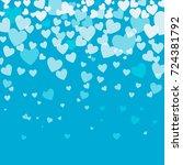 vector  gentle background with... | Shutterstock .eps vector #724381792