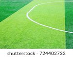 photo of a green synthetic... | Shutterstock . vector #724402732