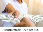 money payment  money laundering ... | Shutterstock . vector #724425715
