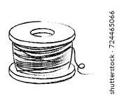 figure nylon fish object to...   Shutterstock .eps vector #724465066