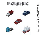 isometric transport set of suv  ...
