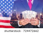 currency. | Shutterstock . vector #724472662