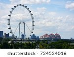 landmark for singapore | Shutterstock . vector #724524016