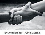 sign of best friends. concept... | Shutterstock . vector #724526866