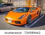 nikko  japan   november 13 ... | Shutterstock . vector #724589662