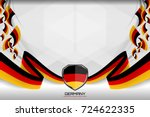 flag of germany background for... | Shutterstock .eps vector #724622335