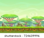 raster illustration. seamless... | Shutterstock . vector #724639996