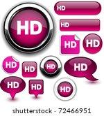 hd fuchsia signs. | Shutterstock .eps vector #72466951