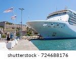 elba island  tuscany  italy  ... | Shutterstock . vector #724688176