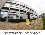 window cleaning fish eye | Shutterstock . vector #724688296