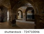 An Old Abandoned Tunnel In An...