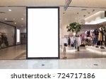 interior of corridor of modern... | Shutterstock . vector #724717186