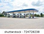 sisaket thailand   sep 29  ptt... | Shutterstock . vector #724728238