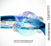 business concept design with... | Shutterstock .eps vector #72475777