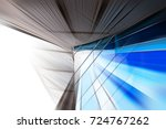 abstract motion blur effect on... | Shutterstock . vector #724767262