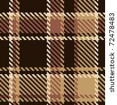 seamless tartan brown abstract... | Shutterstock .eps vector #72478483