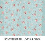 bring warm flowers  the leaves... | Shutterstock . vector #724817008