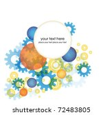 abstract colorful vector...   Shutterstock .eps vector #72483805