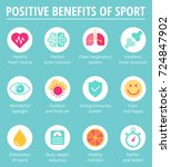 the health care  sport and... | Shutterstock .eps vector #724847902