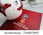 september 14  2017. moscow ... | Shutterstock . vector #724857895