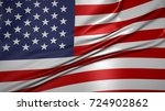 the flag of the united states... | Shutterstock . vector #724902862