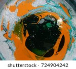mixing colors of different... | Shutterstock . vector #724904242