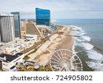 atlantic city  usa   september...   Shutterstock . vector #724905802