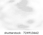 abstract halftone wave dotted... | Shutterstock .eps vector #724913662