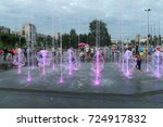 perm  russia   jul 29  2017 ... | Shutterstock . vector #724917832
