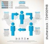 business management  strategy...   Shutterstock .eps vector #724930948