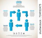 business management  strategy...   Shutterstock .eps vector #724932475