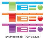 website design elements | Shutterstock .eps vector #72493336