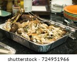 thanksgiving turkey | Shutterstock . vector #724951966