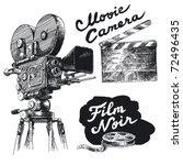 Movie Camera Original Hand...