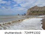 Small photo of Mount Serfdom over the Black Sea in Sudak