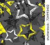 abstract seamless grunge...   Shutterstock .eps vector #724993402