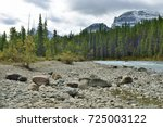 beautiful high mountains of the ... | Shutterstock . vector #725003122