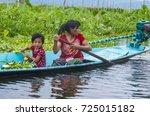 inle lake   myanmar   sep 07  ... | Shutterstock . vector #725015182